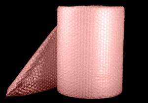 AntiStatic Bubble Rolls available in various sizes.