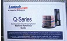 Q-series by lantech stretch wrapper located in machine