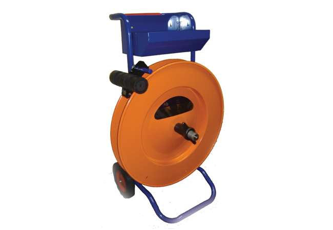 OMV Coil Holder for strapping