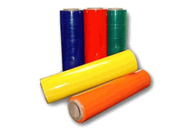 Colour Tinted Plastic Film | Stretch Wrap Ireland | Abco Kovex