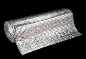 Silver Foil Back Bubble Wrap