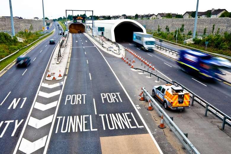 Dublin Port Tunnel | Abco Kovex Truck | Packaging Ireland