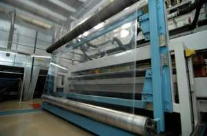 Stretch Film Production of Stratos pallet wrap in Ireland