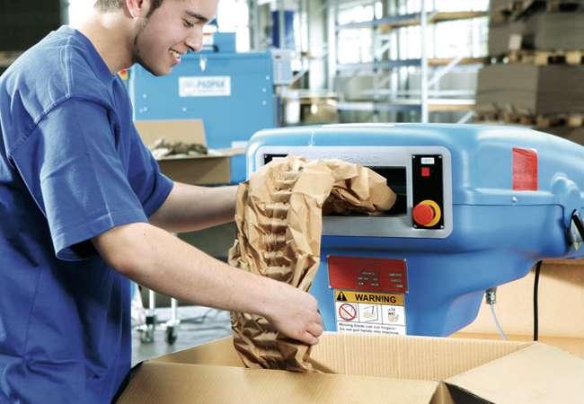 Padpak Void Filling | Void Filling System | Ranpak Ireland | Packaging Distribution Ireland | Packaging Dublin | Abco Kovex