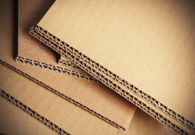 Corrugated Cardboard Sheets ready for shipment