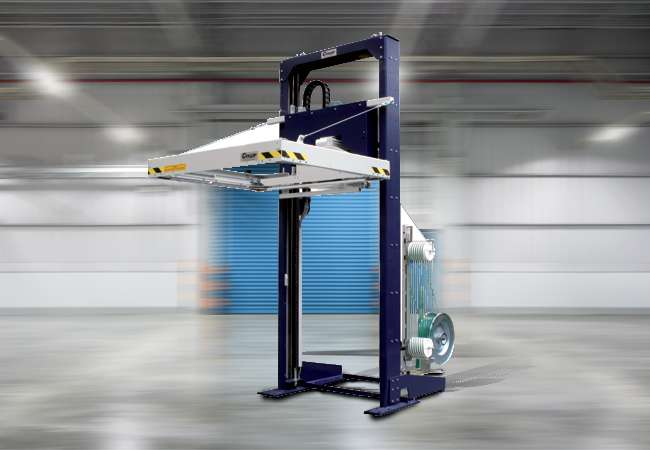 Cyklop horizontal strapping machine