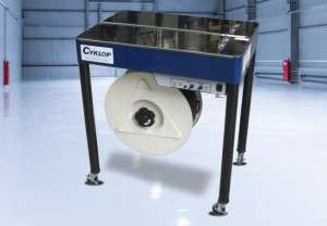 Cyklop Strapping Machine in factory.