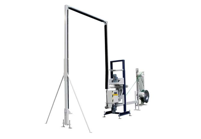 Cyklop Vertical Strapping Machine | Strapping Accesories Ireland | Packaging Products Ireland | Abco Kovex | Transit Packaging | Load Retention