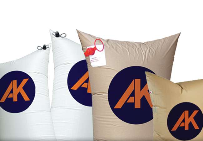 Abco Kovex Dunnage bags available in various sizes supplied in Ireland
