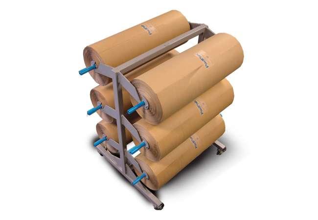 Padpak Papercar Rolls | Void Filling System | Ranpak Ireland | Packaging Distribution Ireland | Packaging Dublin | Abco Kovex