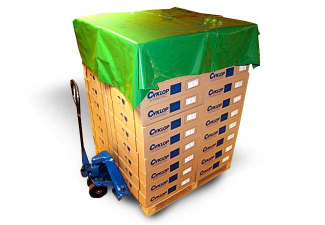 Polyethylene Pallet Top Covers | Packaging Distribution Ireland | Packaging Dublin | Abco Kovex