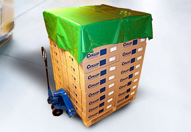 Polyethylene Pallet Top Covers   Packaging Distribution Ireland   Packaging Dublin   Abco Kovex