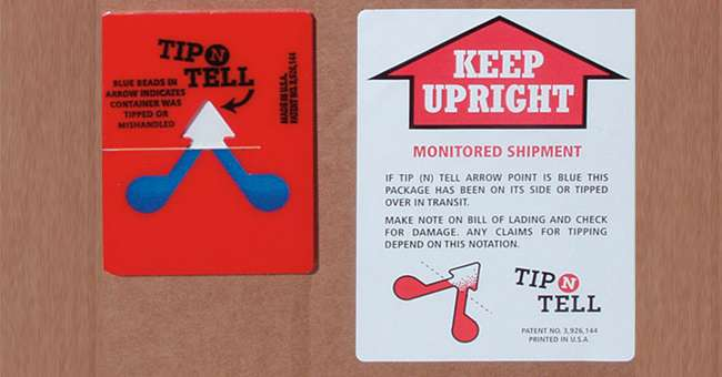 Tip N Tell Shipping Shock Indicators Ireland | Abco Kovex | Packaging Ireland | Transit Packaging