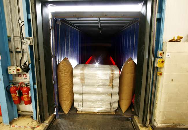 Transit Container Air Bags   Polywoven Abco Kovex Air Bag   Packaging Ireland   Transit Packaging   Dunnage Bags   Abco Kovex Ireland