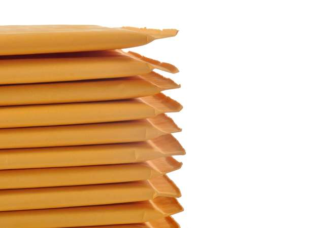 Durable padded envelopes made from different types of material