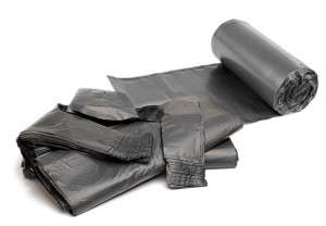 Black Bin Bag Rolls | Packaging Distribution Ireland | Packaging Dublin | Abco Kovex