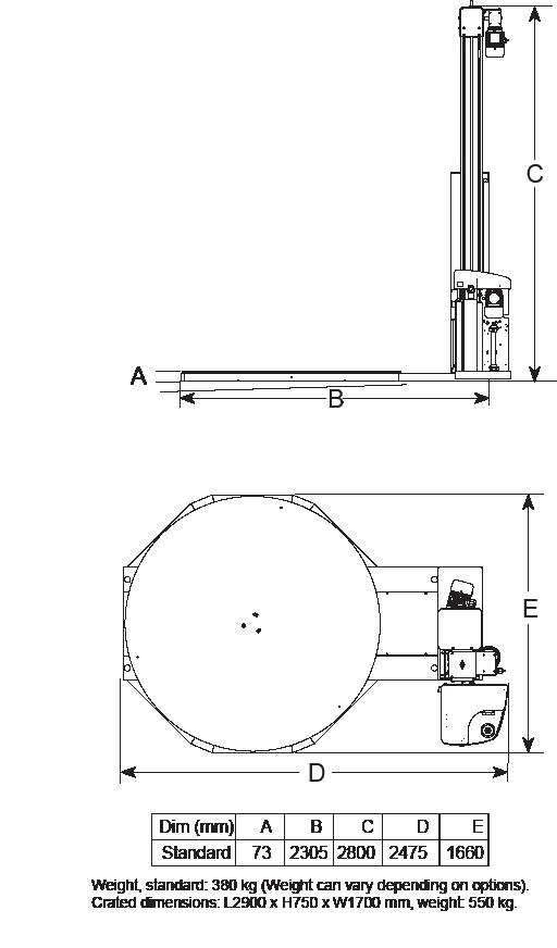 Cyklop CTT 200 Diagram