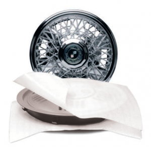 tire with cell aire polyethylene packaging