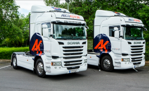 Articulated Trucks Packaging Company Ireland