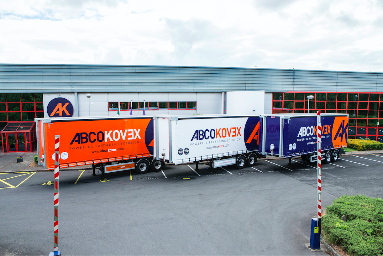 Packaging Company Ireland Trucks