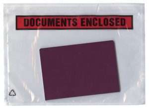 document enclosed wallet
